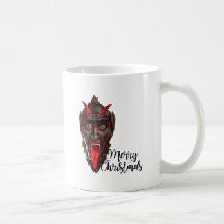 krampus merry christmas coffee mug