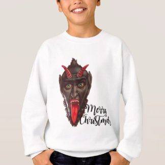 krampus merry christmas sweatshirt