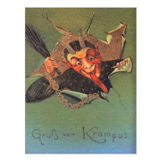 Krampus Postcard