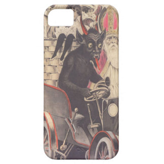 Krampus & Priest Kidnapping Children iPhone 5 Case