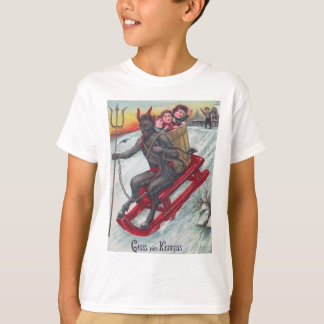 Krampus Sled T-Shirt
