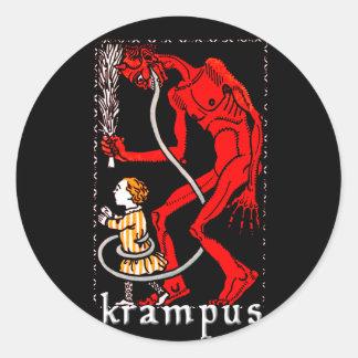 Krampus Sticker
