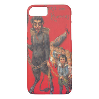Krampus With Bad Children iPhone 8/7 Case