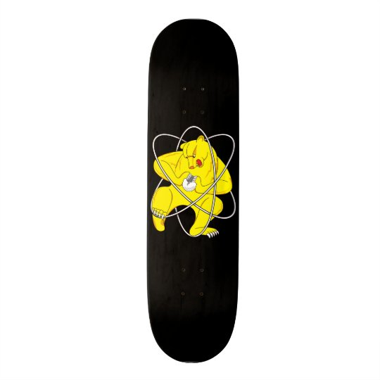 Krasnoyarsk-26 Atomic Bear Custom Skateboard