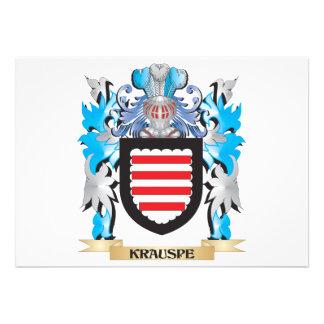 Krauspe Coat of Arms - Family Crest Invite