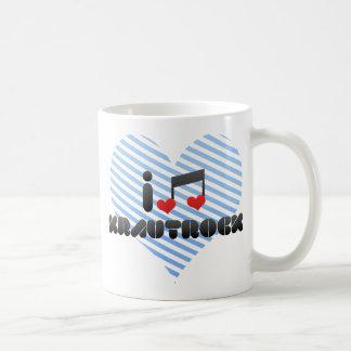 Krautrock fan basic white mug