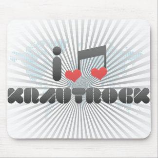 Krautrock fan mouse pad