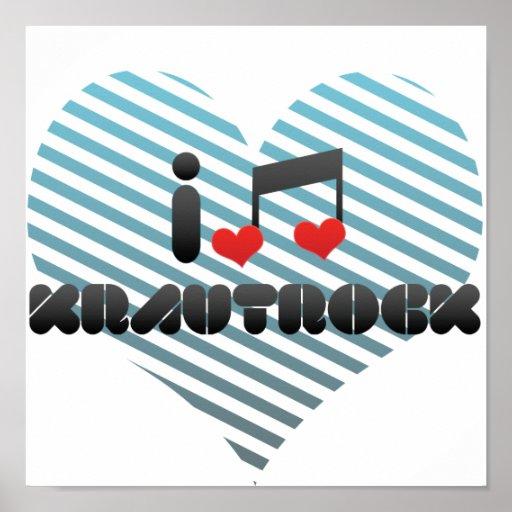 Krautrock fan poster