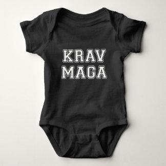 Krav Maga Baby Bodysuit