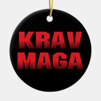 Krav Maga Ceramic Ornament