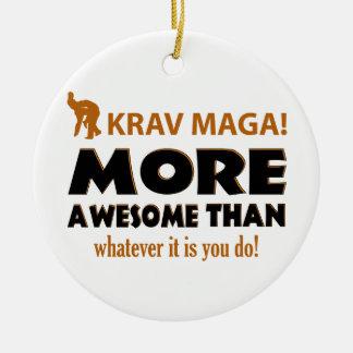 KRAV MAGA! DESIGN CERAMIC ORNAMENT