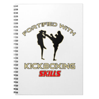 Krav maga Designs Spiral Note Book