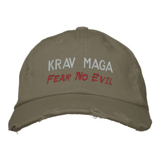 Krav Maga, Fear No Evil Embroidered Hats