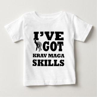 Krav Maga Martial Arts designs Baby T-Shirt