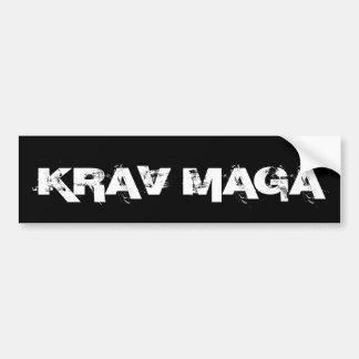 Krav Maga Martial Arts Self Defense Bumper Sticker