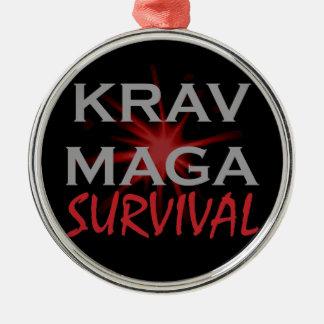 Krav Maga Metal Ornament