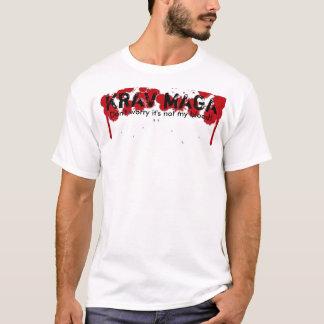 "KRAV MAGA ""Not My Blood"" T-Shirt"