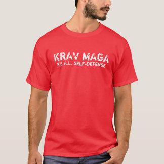 KRAV MAGA REAL self-defense T-shirt