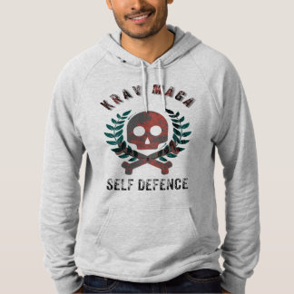 Krav Maga Self Defence Logo Hoodie