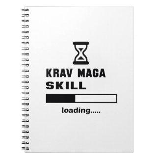 Krav Maga skill Loading...... Notebooks