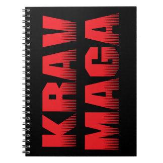 Krav Maga Spiral Notebook