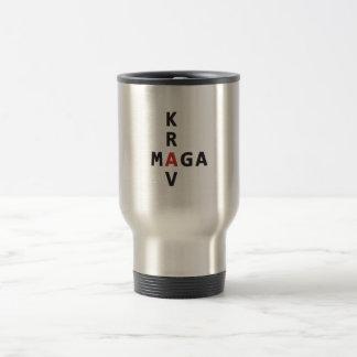Krav Maga  Travel Mug