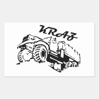 Kraz - The Soviet Russian Truck Sticker