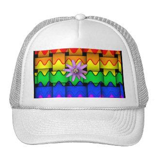 Krazy Rainbow Flag Trucker Hat