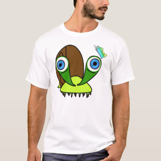 krazy snail and butterfly T-Shirt