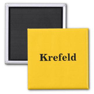 Krefeld magnet sign gold Gleb