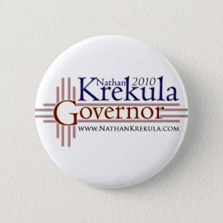 Krekula for Governor 2 Inch Round Button