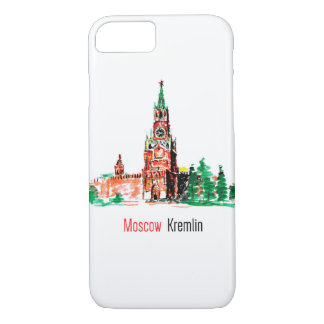 Kremlin, Red Square, Moscow, Russia. iPhone 7 Case