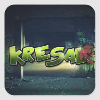 Kresal the Official Mixtape Sticker