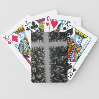 kreutz black Fleming Bicycle Playing Cards