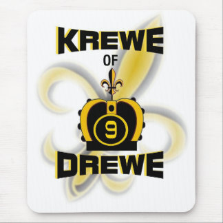 Krewe of Drewe Mouse Pad