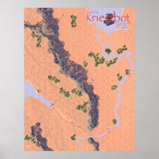 Kriegbot Map Poster