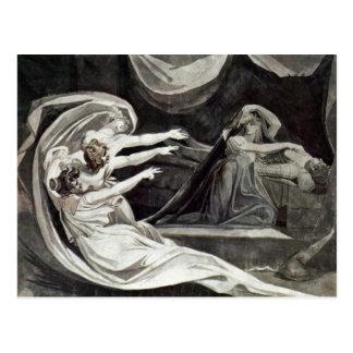 Kriemhild Is Haunted By Her Gewissenbissen By Füss Postcard