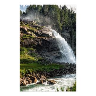 krimml waterfall, Austria Stationery
