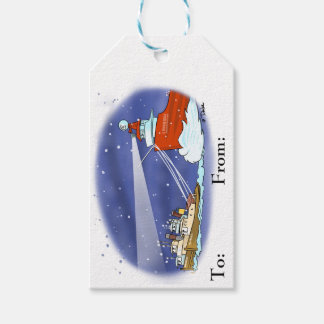 Kringle freighter gift tag