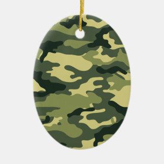 Kris alan Camouflage Ceramic Ornament