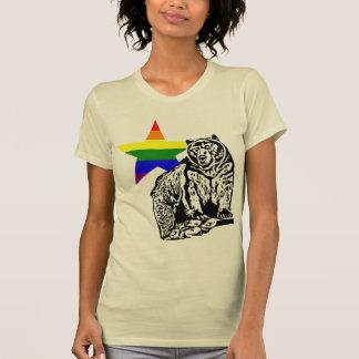 Kris Alan grizzly bear Rainbow T-Shirt