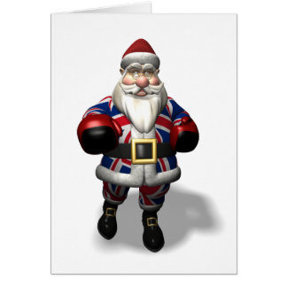 Kris Kringle On Boxing Day Card