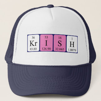Krish periodic table name hat
