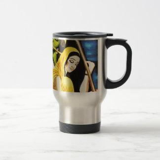 Krishna and Meera Travel Mug