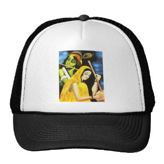 Krishna and Meera Trucker Hat