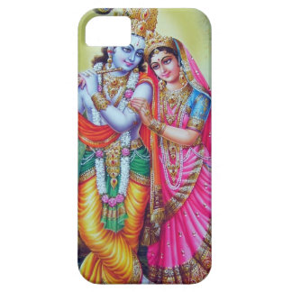 Krishna and Radha, Divine Couple Cell Phone Cover iPhone 5 Case