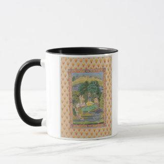 Krishna and the Gopis (gouache on paper) Mug