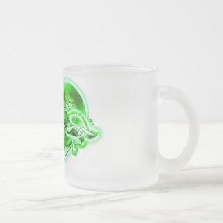 Krishna Frosted Glass Coffee Mug
