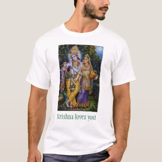 Krishna loves you! T-Shirt