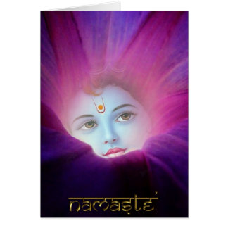 Krishna Morning Glory Card